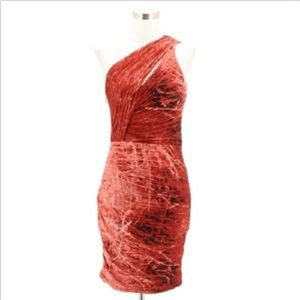 A1 NEW HALSTON HERITAGE Designer Dress Size 8 Red